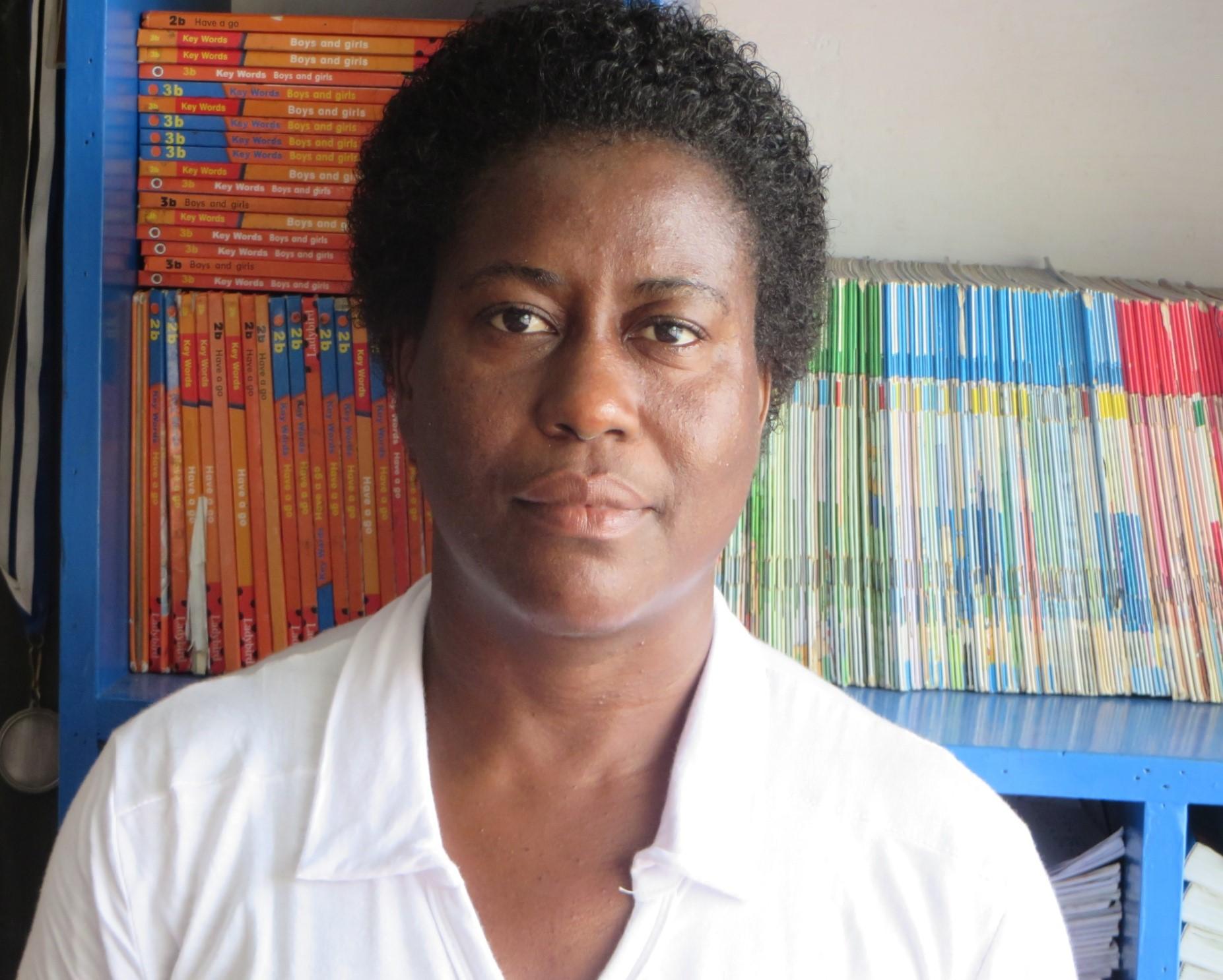 Sharon Charmaine Edwards : Teacher